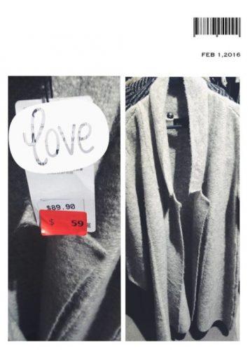Grey Zara Coat Winter Sale Marked Down
